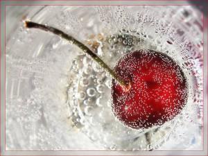 Вишня замороженная в сахарном сиропе