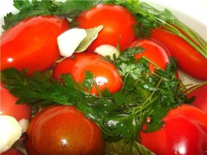 Рецепт бочковых помидоров