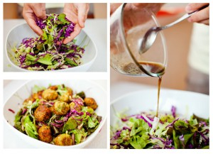 вегетарианский салат