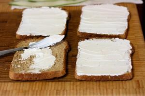 легкий бутерброд