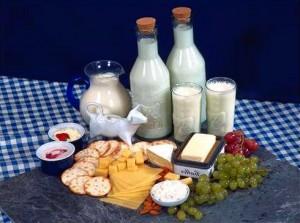 натуральные молочные продукты