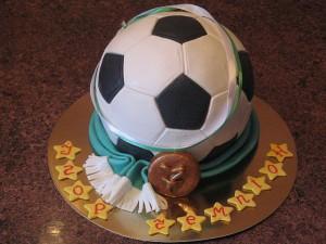 торт футболист