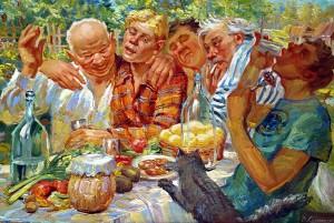 русские закуски