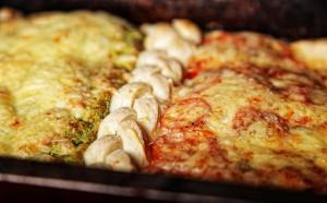 Простая и красивая пицца