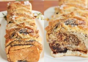 Постный хлеб с корицей