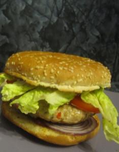 Домашний бургер.