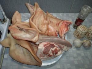 Простой рецепт свиных ушей