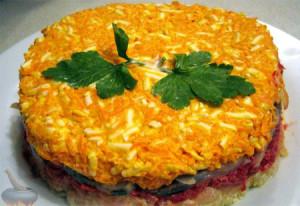 Салат из пангасиуса